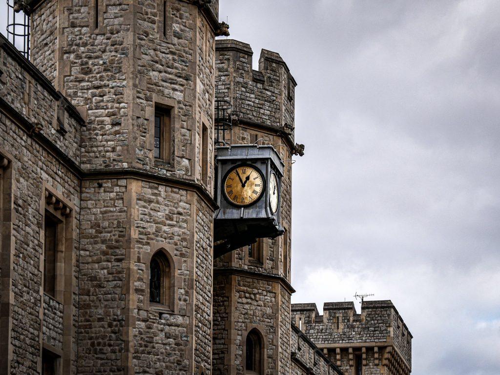 Tour de Londres - horloge