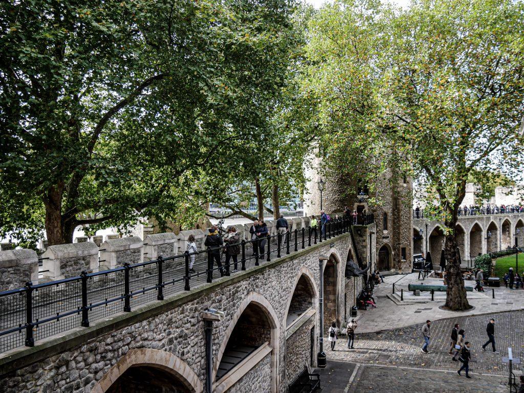 Tour de Londres - remparts