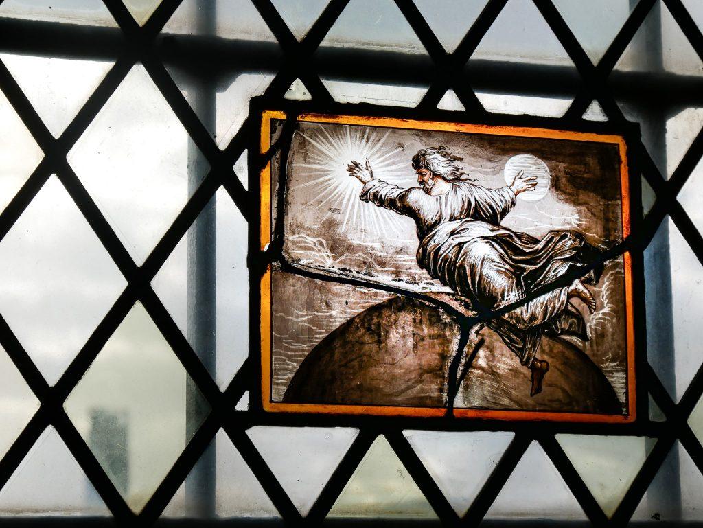 Tour de Londres - vitrail