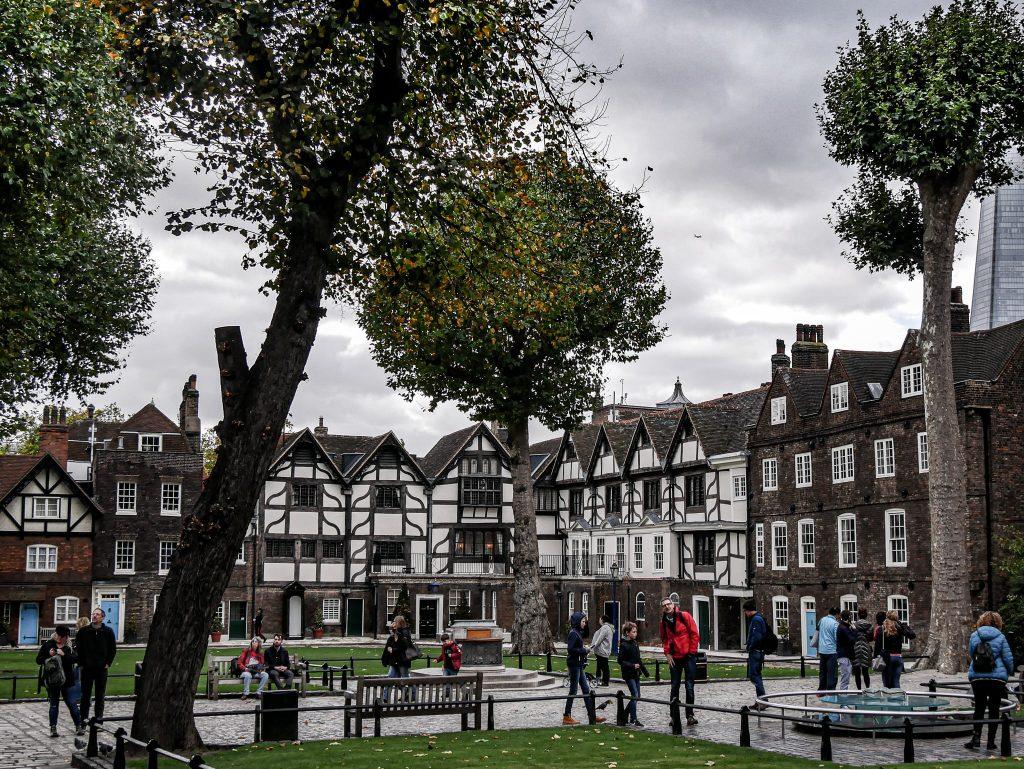 Tour de Londres - yard