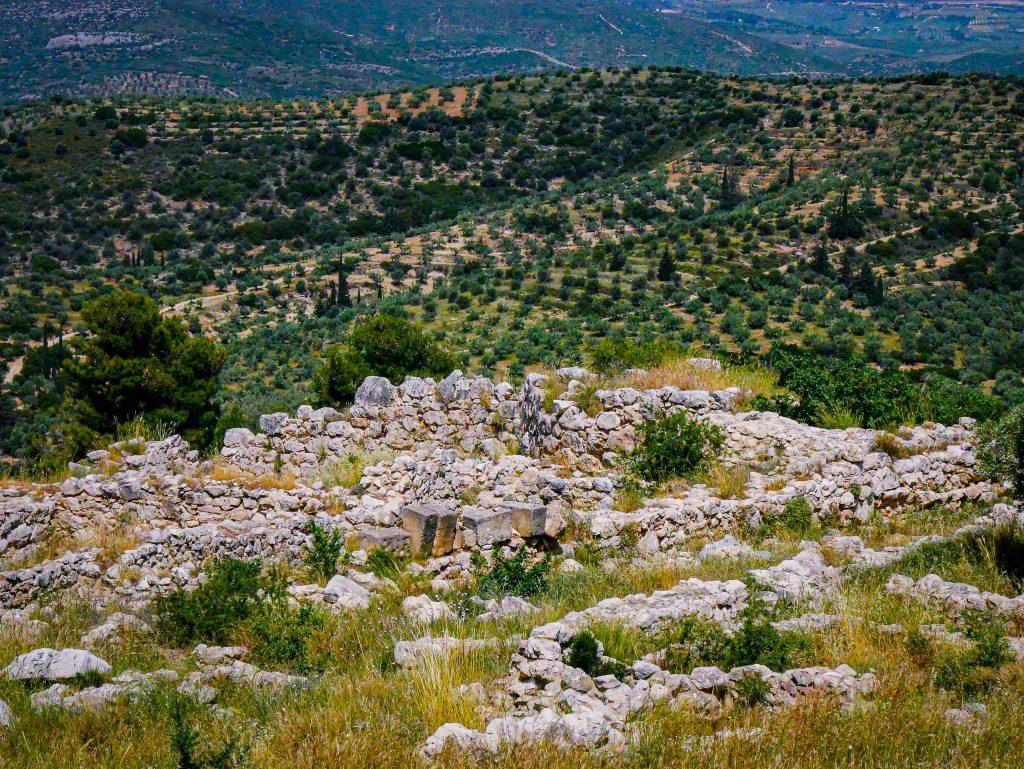 Vestiges de Mycènes - Grèce