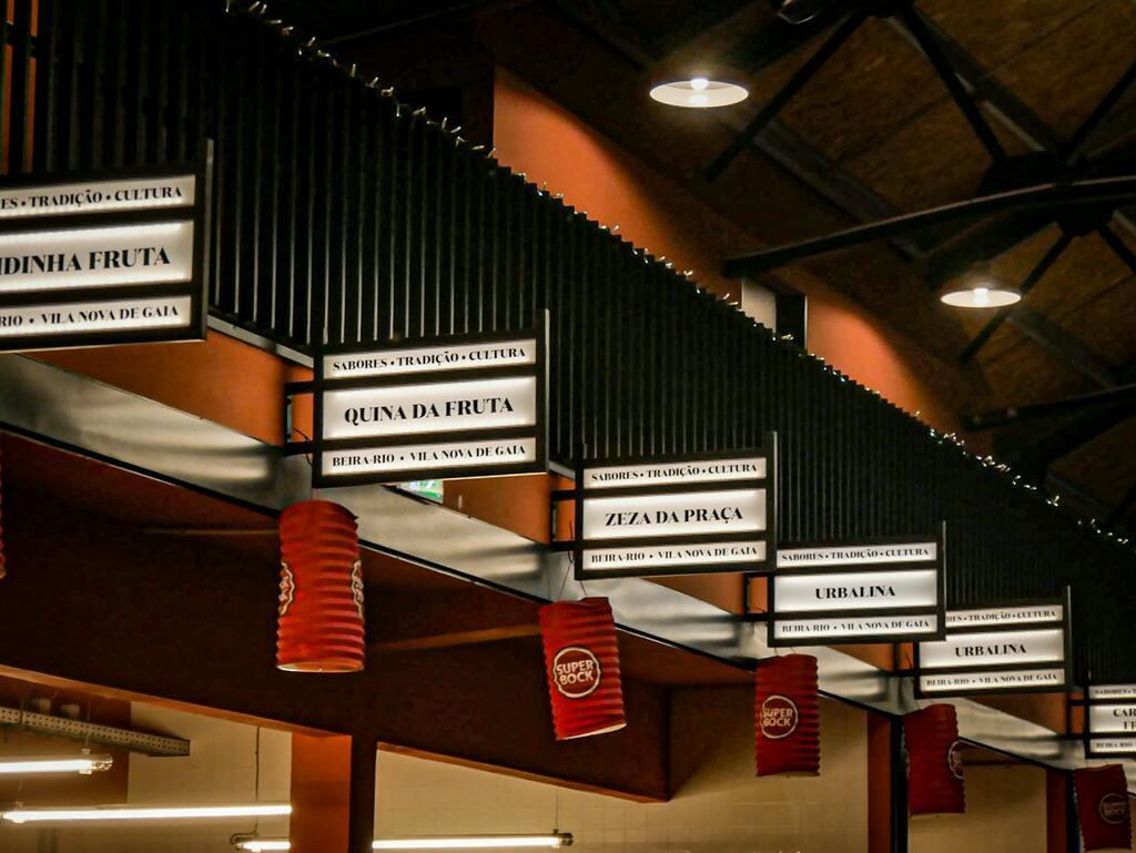 Vila Nova de Gaia - marché - restaurant porto