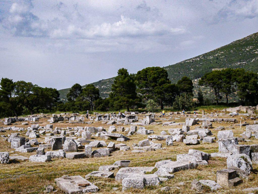 Vue sur le Sanctuaire d'Asclépios - Épidaure