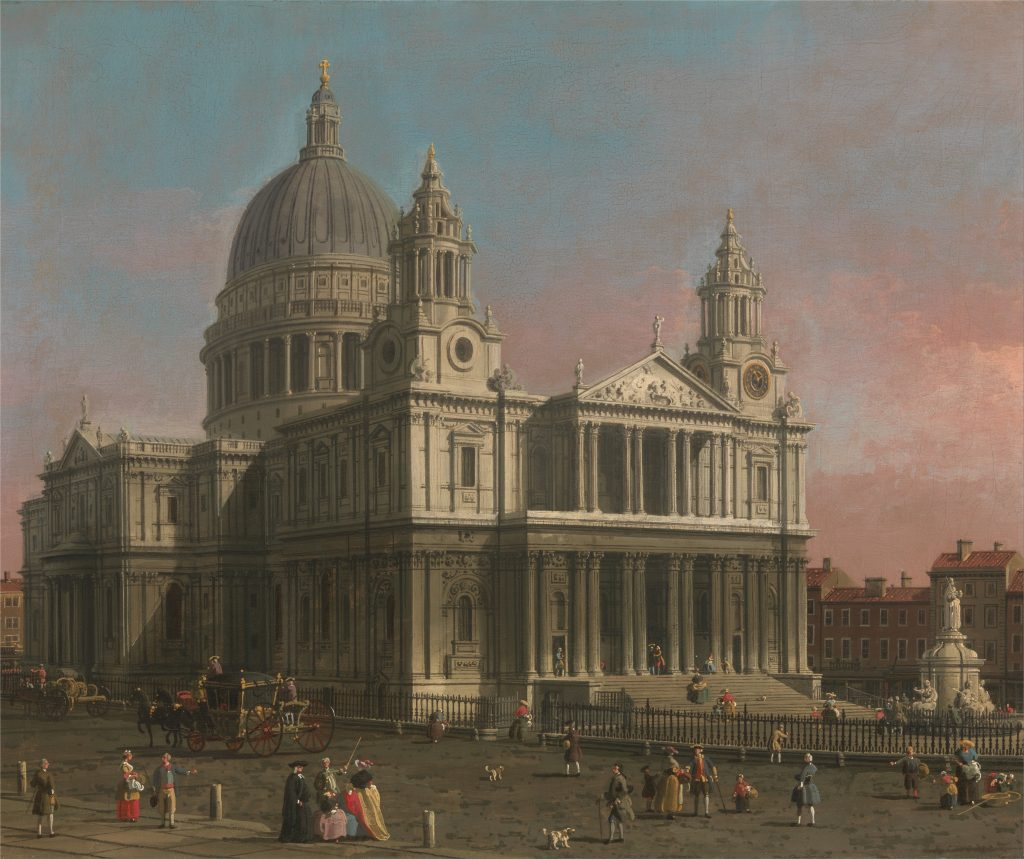 Canaletto - Cathédrale Saint Paul Londres