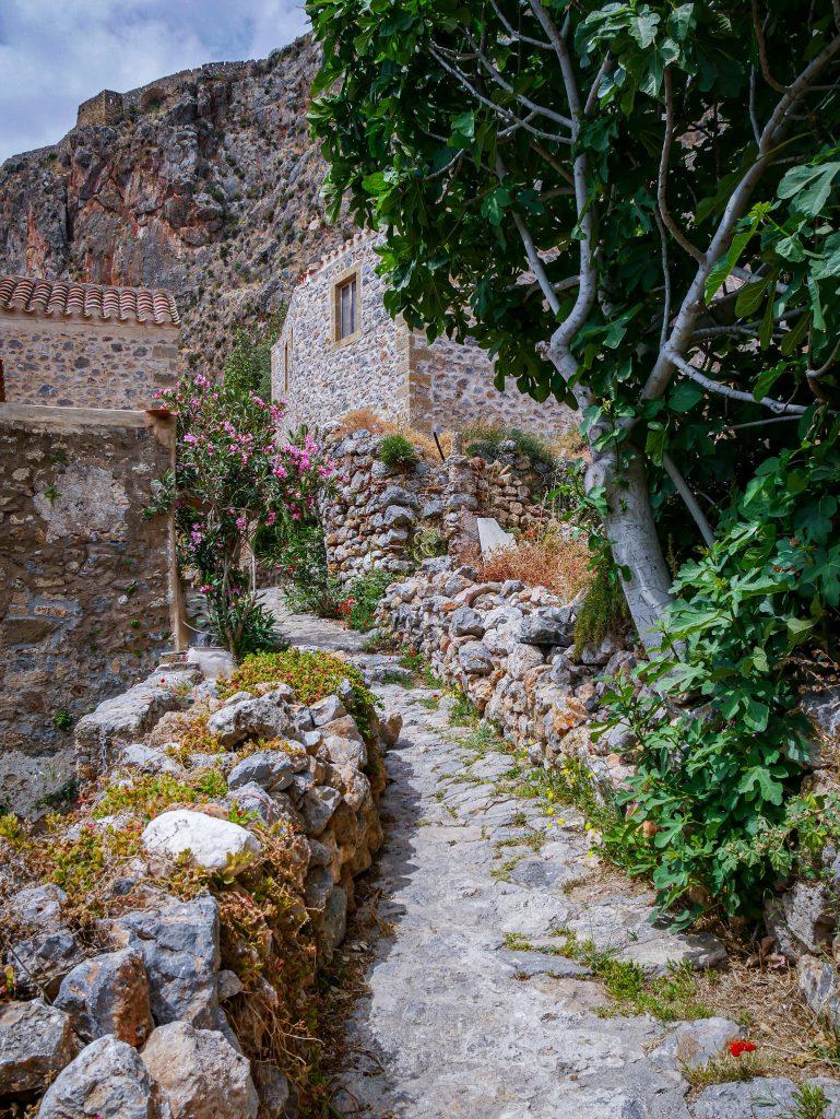 Chemin - Monemvasia - Grèce