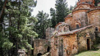 Église - Mystra - Grèce