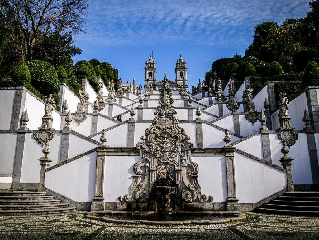 Excursions depuis Porto -Monastère de Bom Jesus - Braga