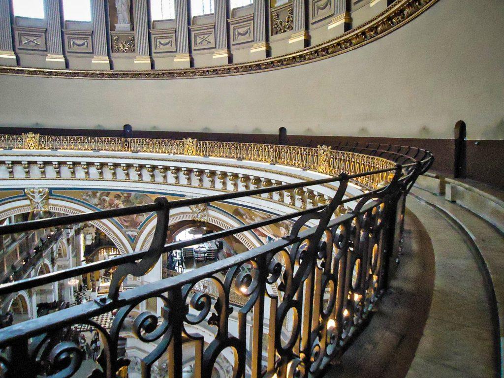 Galerie des murmures - Cathédrale Saint-Paul - Londres