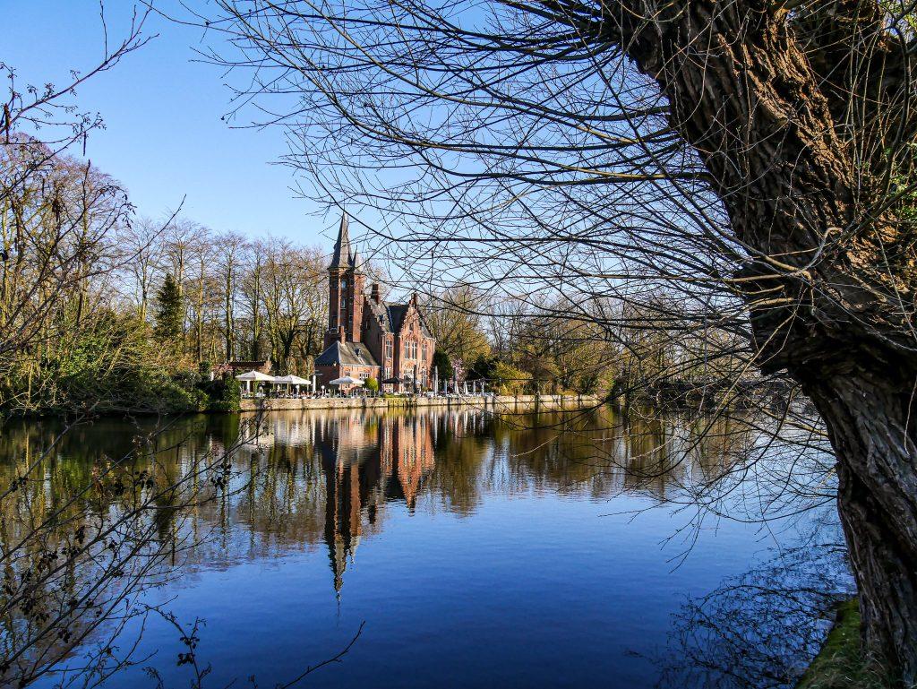 Minnewater Park - Que faire à Bruges