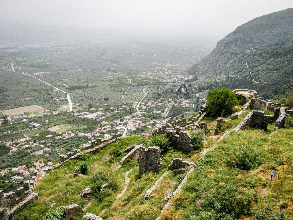 Panorama depuis Mystras - Grèce