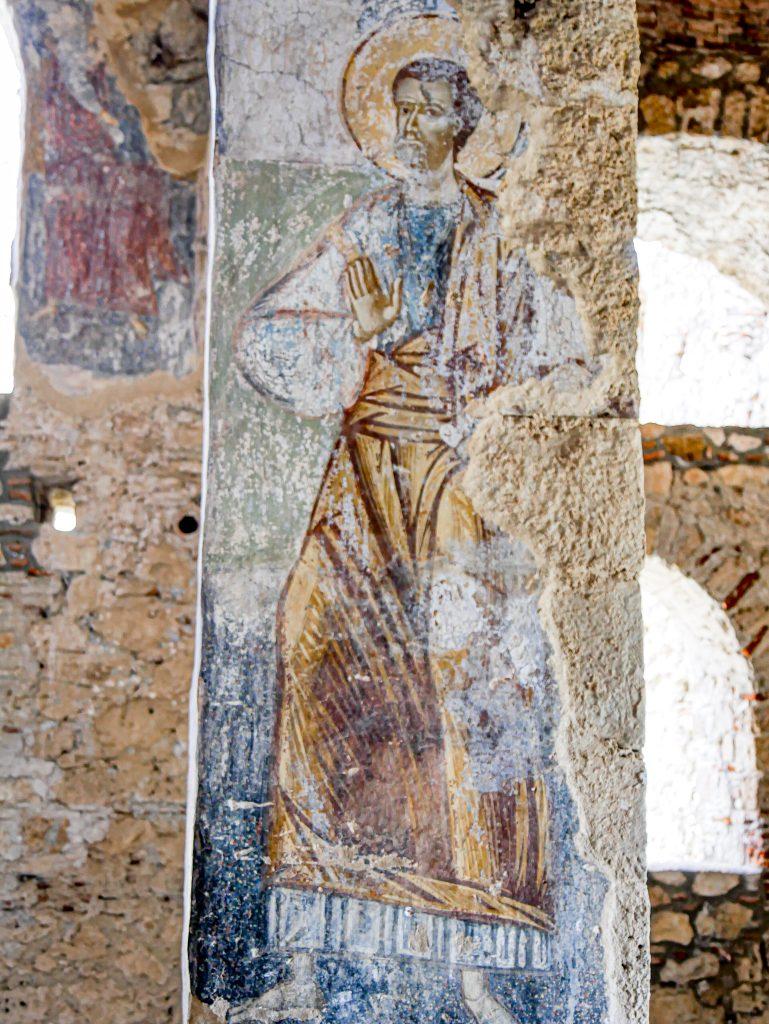 Peinture - Mystras - Grèce