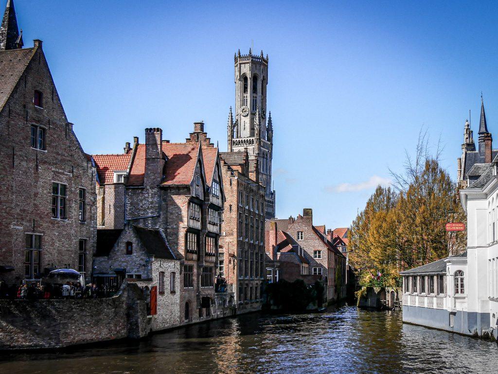 Que faire à Bruges - canaux