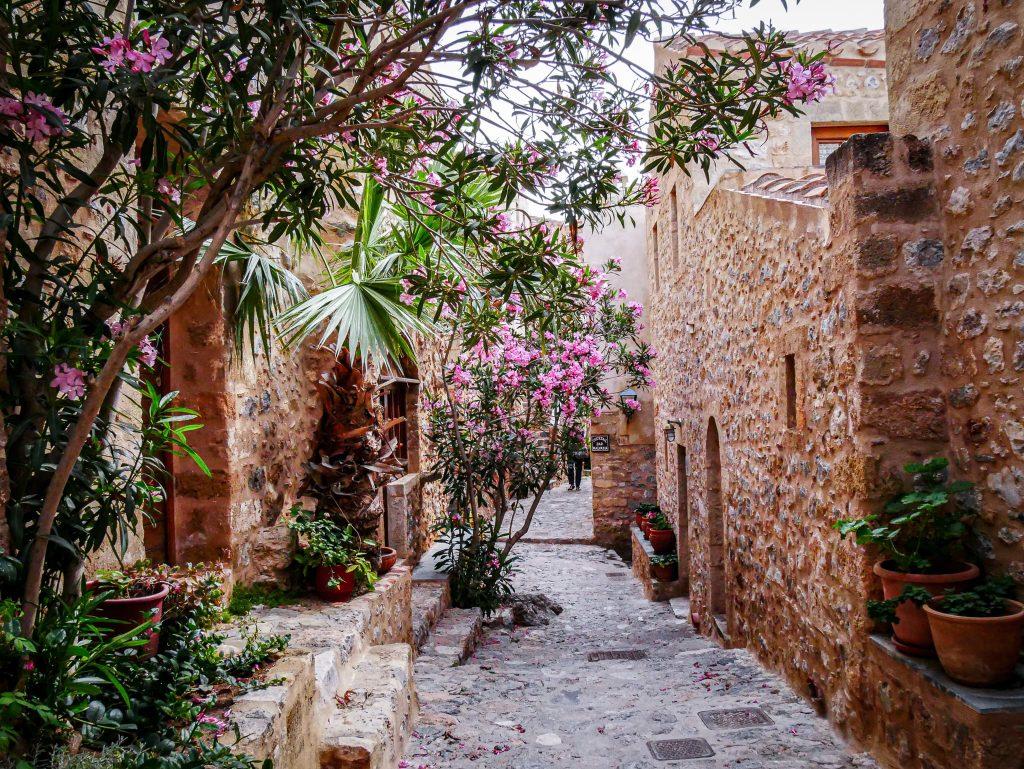 Ruelle de Monemvasia - Grèce