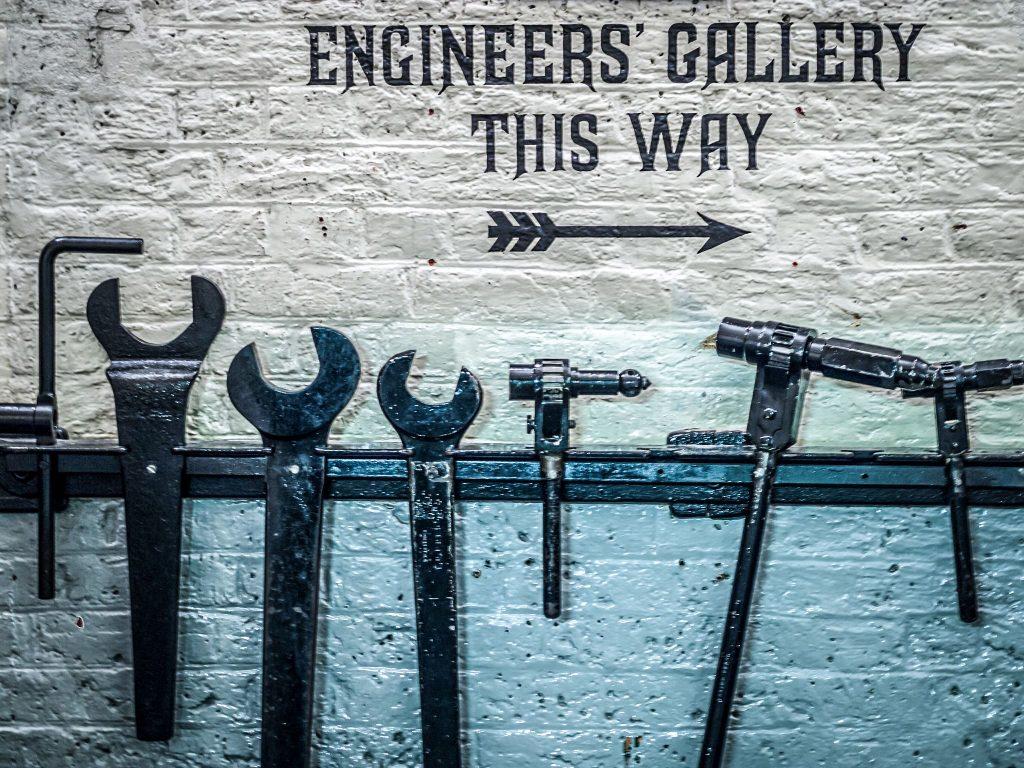 Salles des machines - Tower Bridge © James Petts