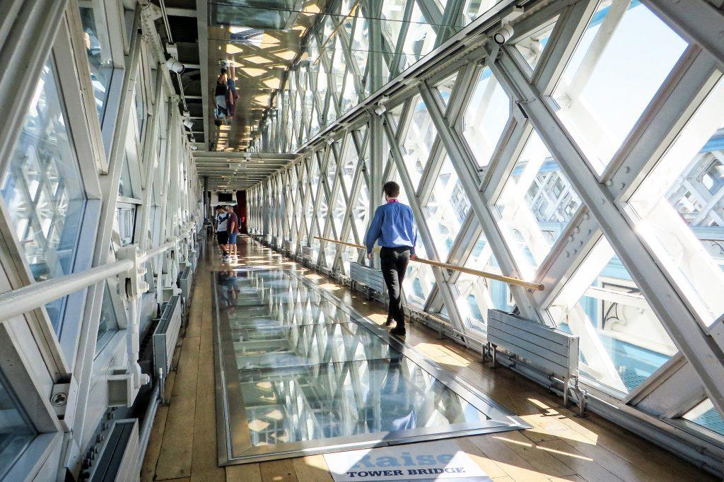 Tower Bridge Glass Floor © diamond geezer