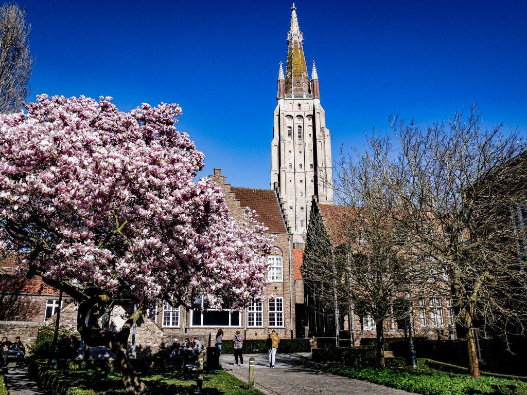 Visiter Bruges - Église Notre-Dame