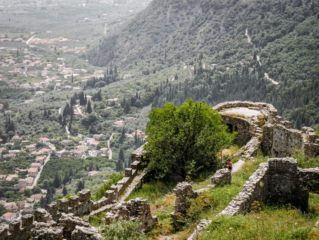 Vue - Mystras - Grèce