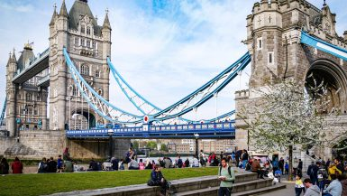 Vue sur le Tower Bridge - Londres