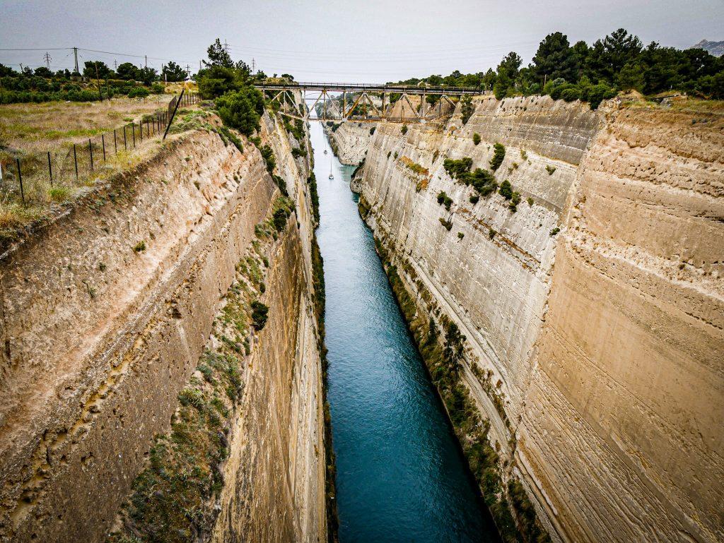 Canal de Corinthe - Grèce