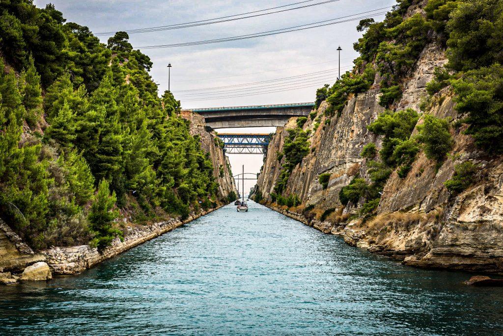 Canal de Corinthe - croisière