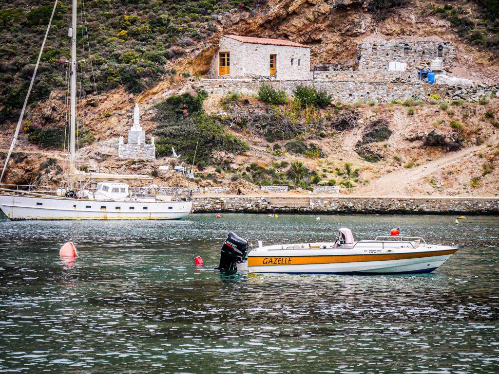 Le Magne - Grèce - port