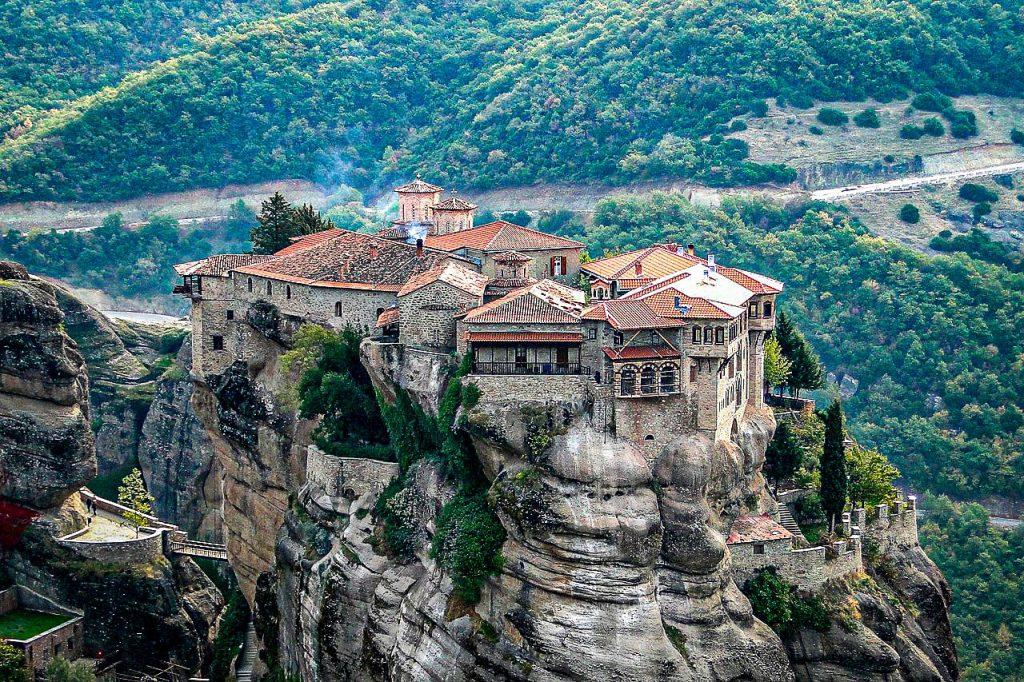 Météores - Grèce - Monastère Varlaam