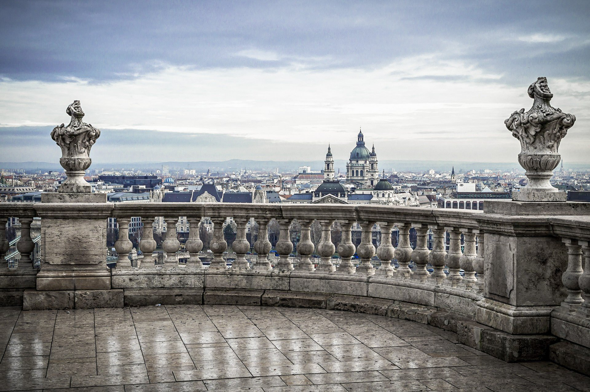 St. Stephen's Basilica in Pest - panorama - Budapest