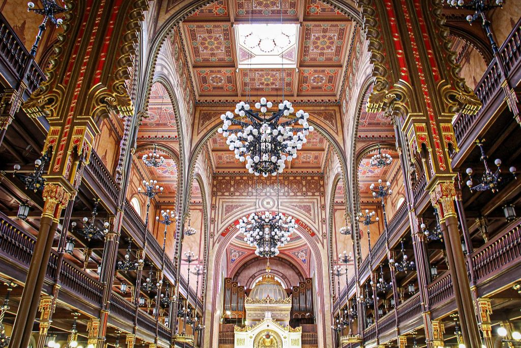 Great Synagogue of Budapest - interior