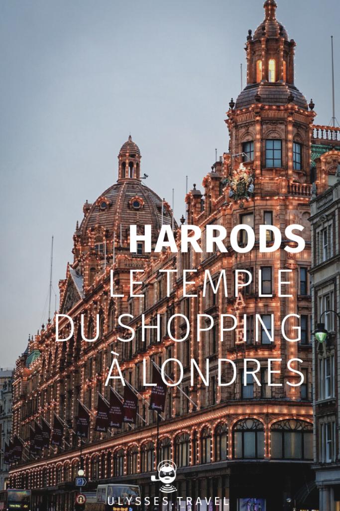 Harrods - Londres - Pinterest