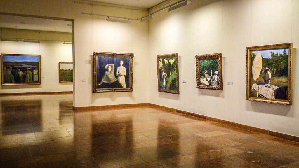 La Galerie nationale hongroise à Budapest