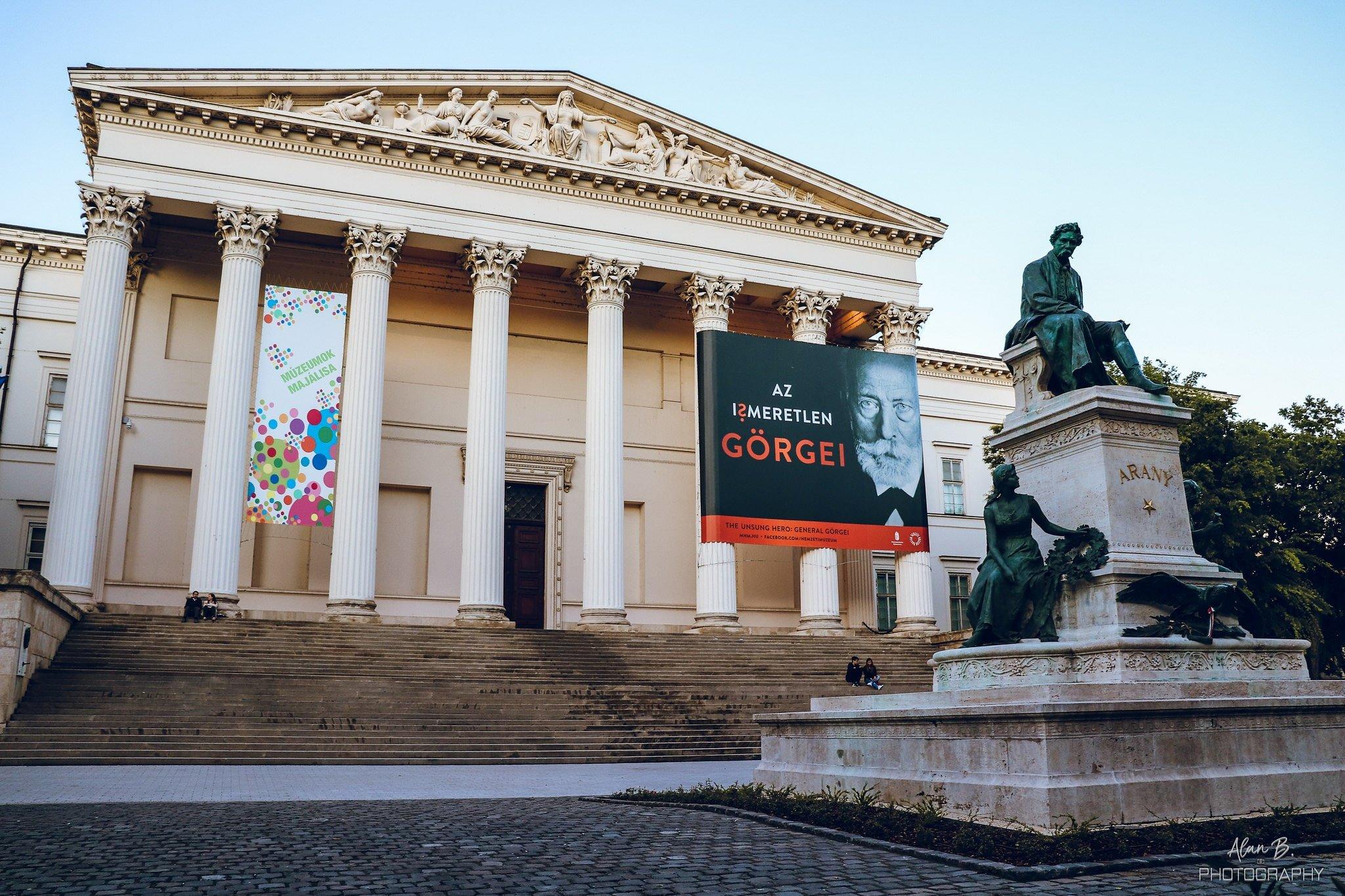 Hungarian National Museum - Budapest - facade