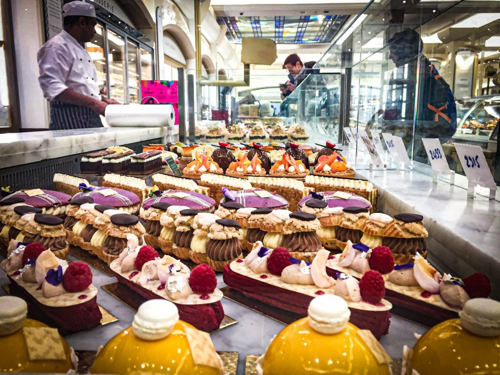 Pâtisseries - Harrods - Londres