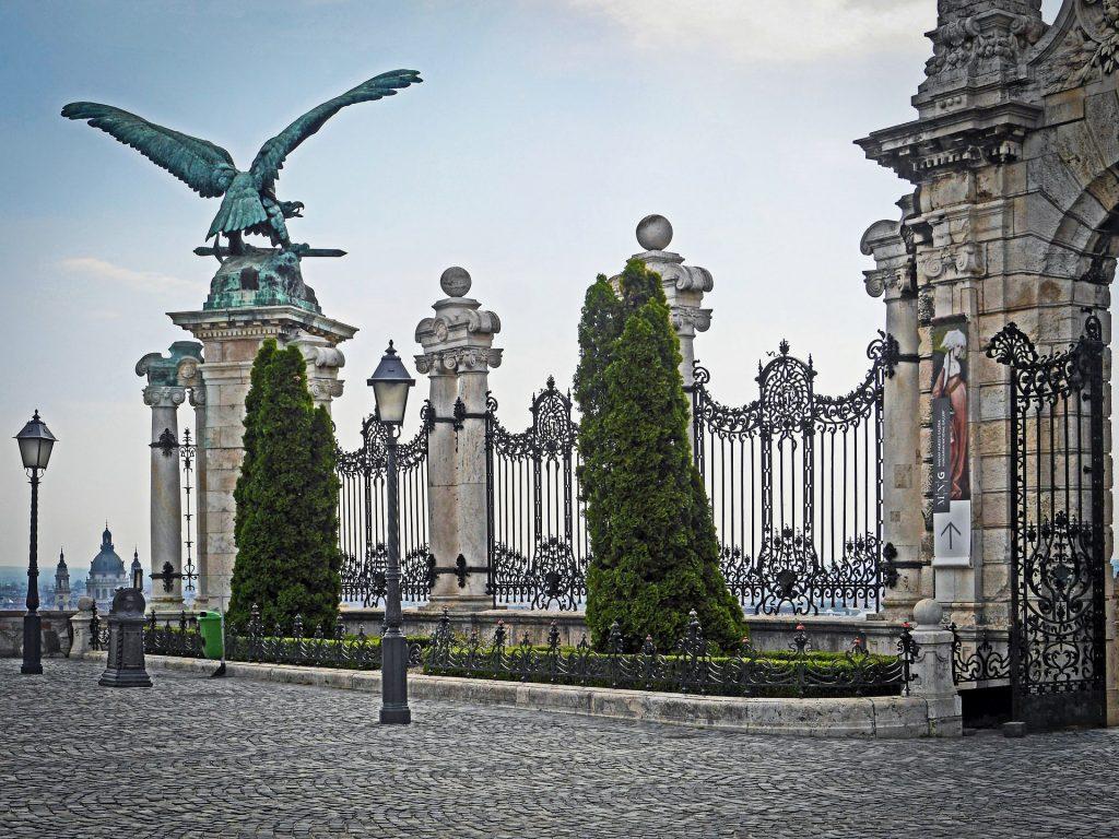 Palais de Budavár - Budapest - Turul