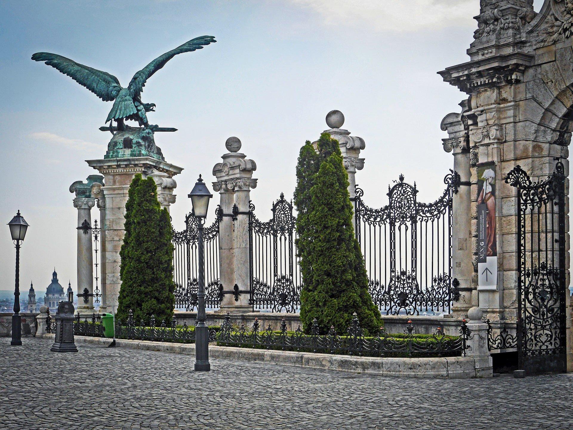 Buda Castle - Budapest - Turul