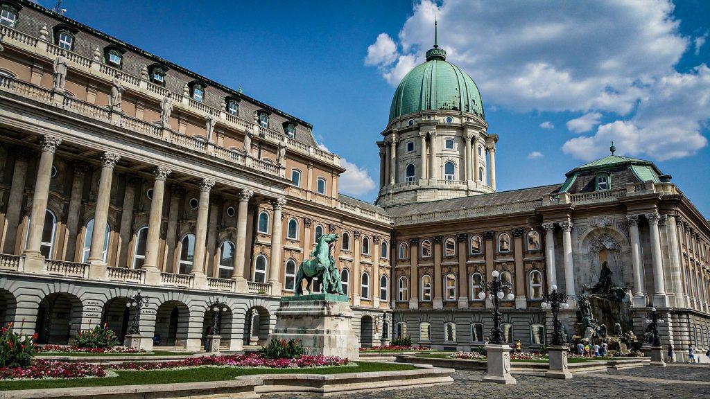 Palais de Budavár - Château de Buda - Budapest
