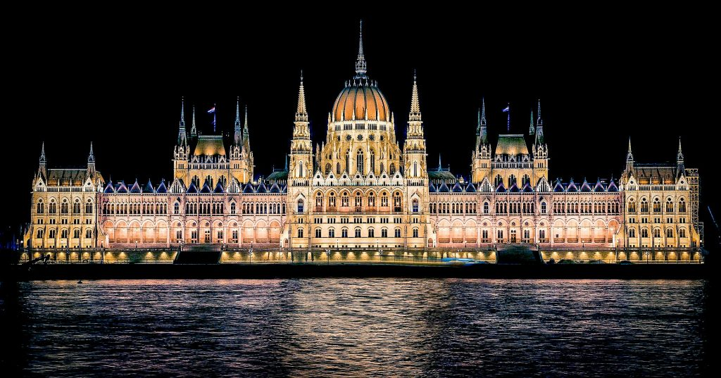 Hungarian Parliament at night - Budapest