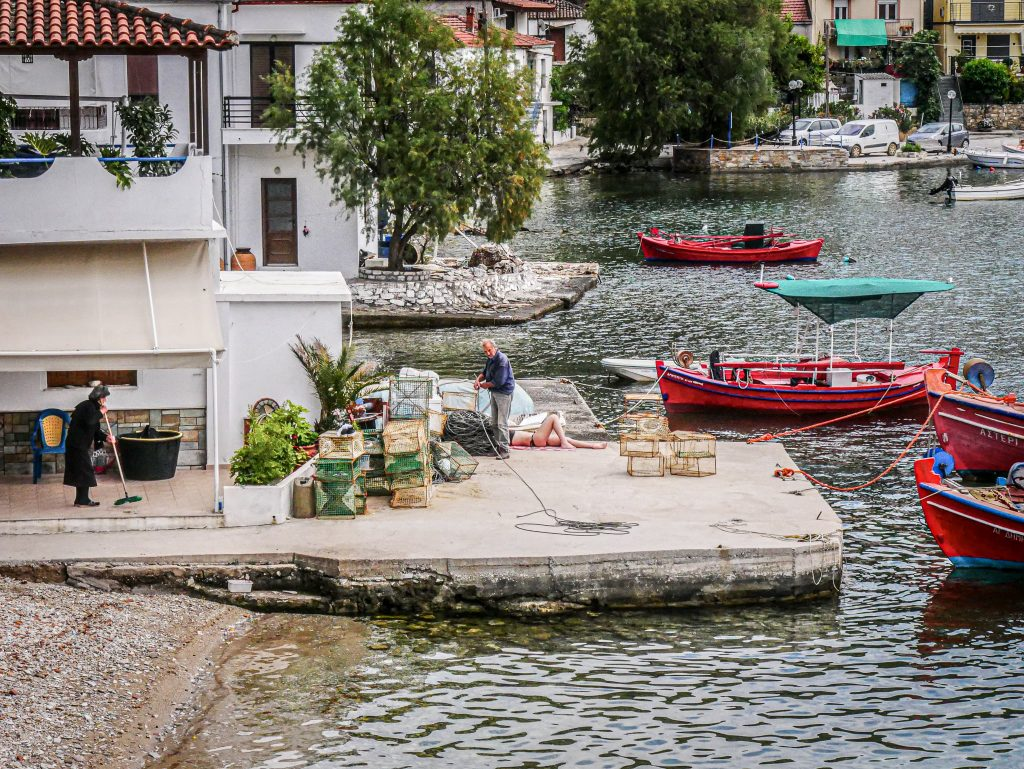 Pélion - Grèce - port
