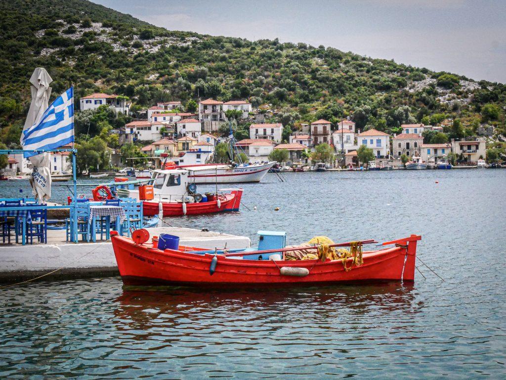 Pélion - port - Grèce