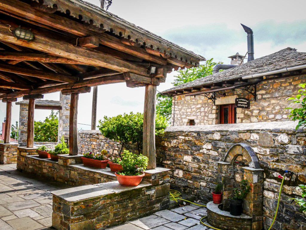 Pélion - village