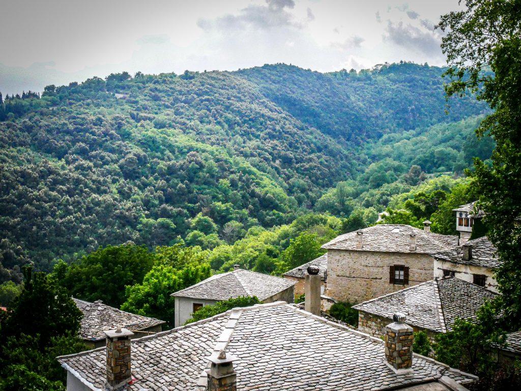 Pélion - village de montagne