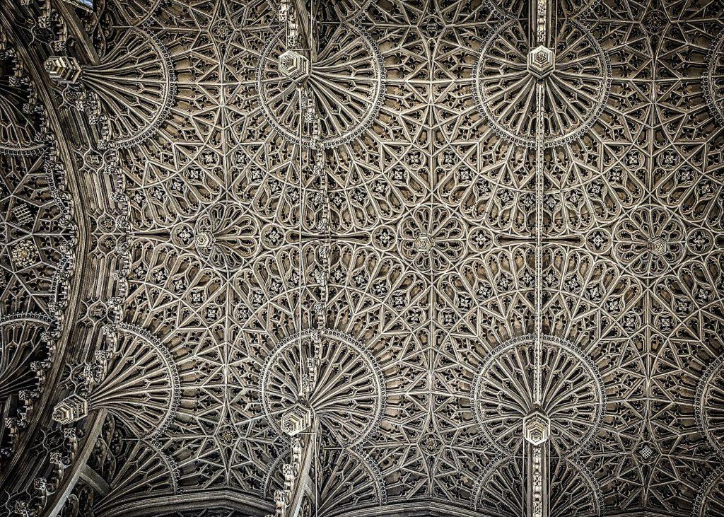 Plafond de la Lady Chapel - Abbaye de Westminster