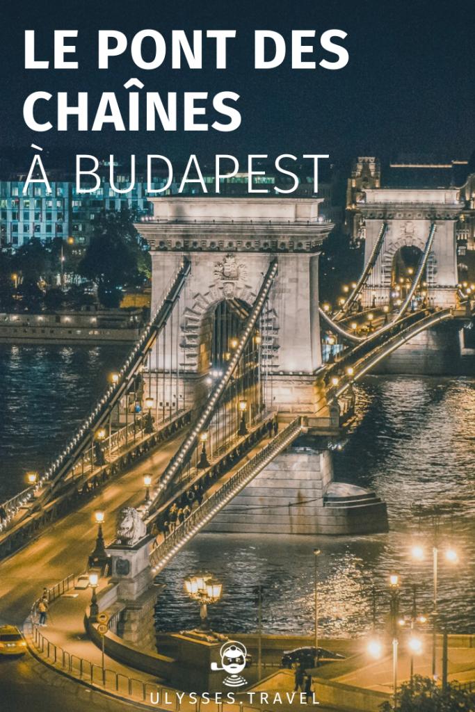 Pont des Chaînes - Budapest - Pinterest