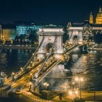 Széchenyi Chain Bridge - night view - Budapest