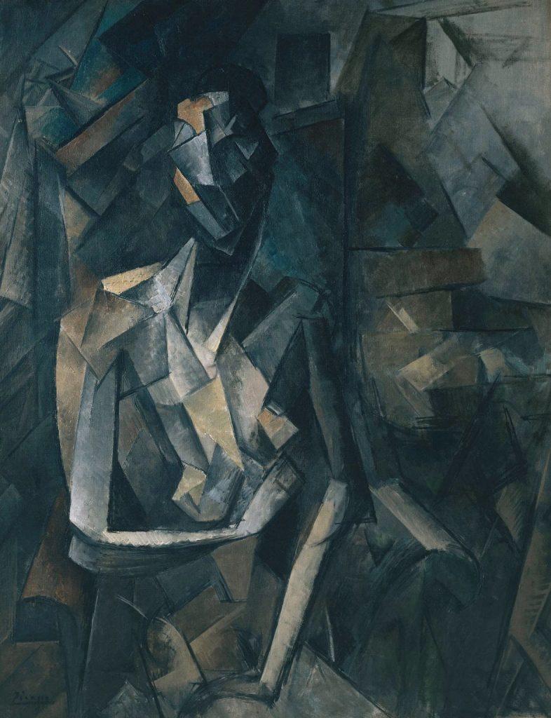 Tate Modern - Pablo Picasso - Figure dans un Fauteuil