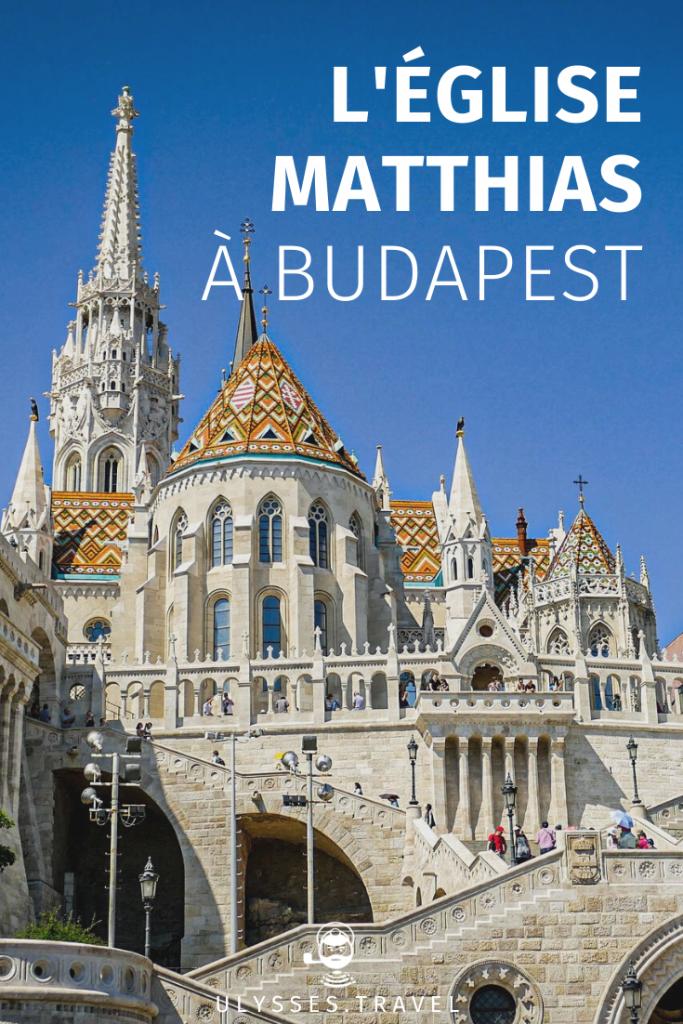 église Notre-Dame-de-l'Assomption de Budavár (l'église Matthias) - Budapest - Pinterest
