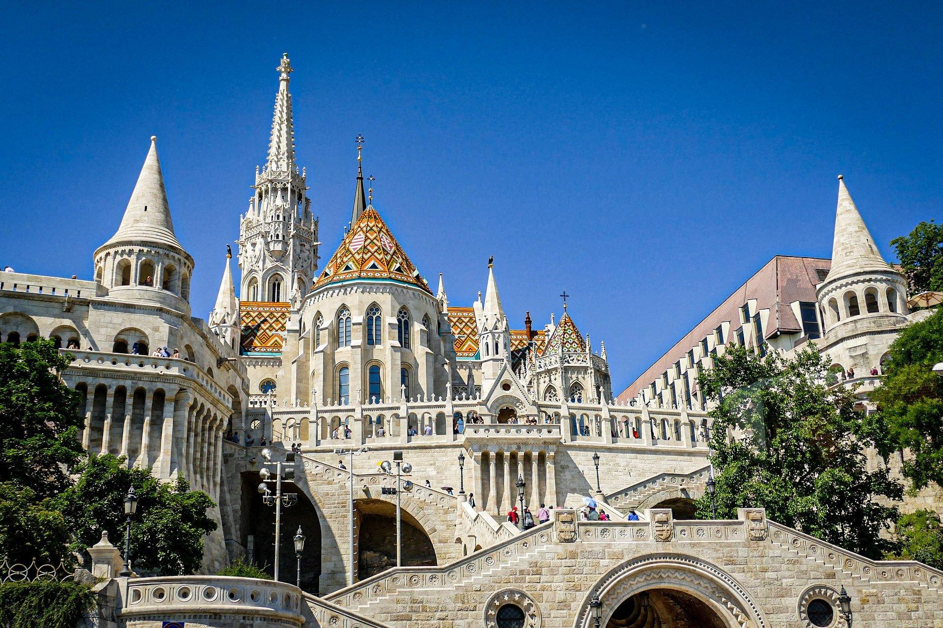 Church of the Assumption of the Buda Castle (Matthias Church) - facade