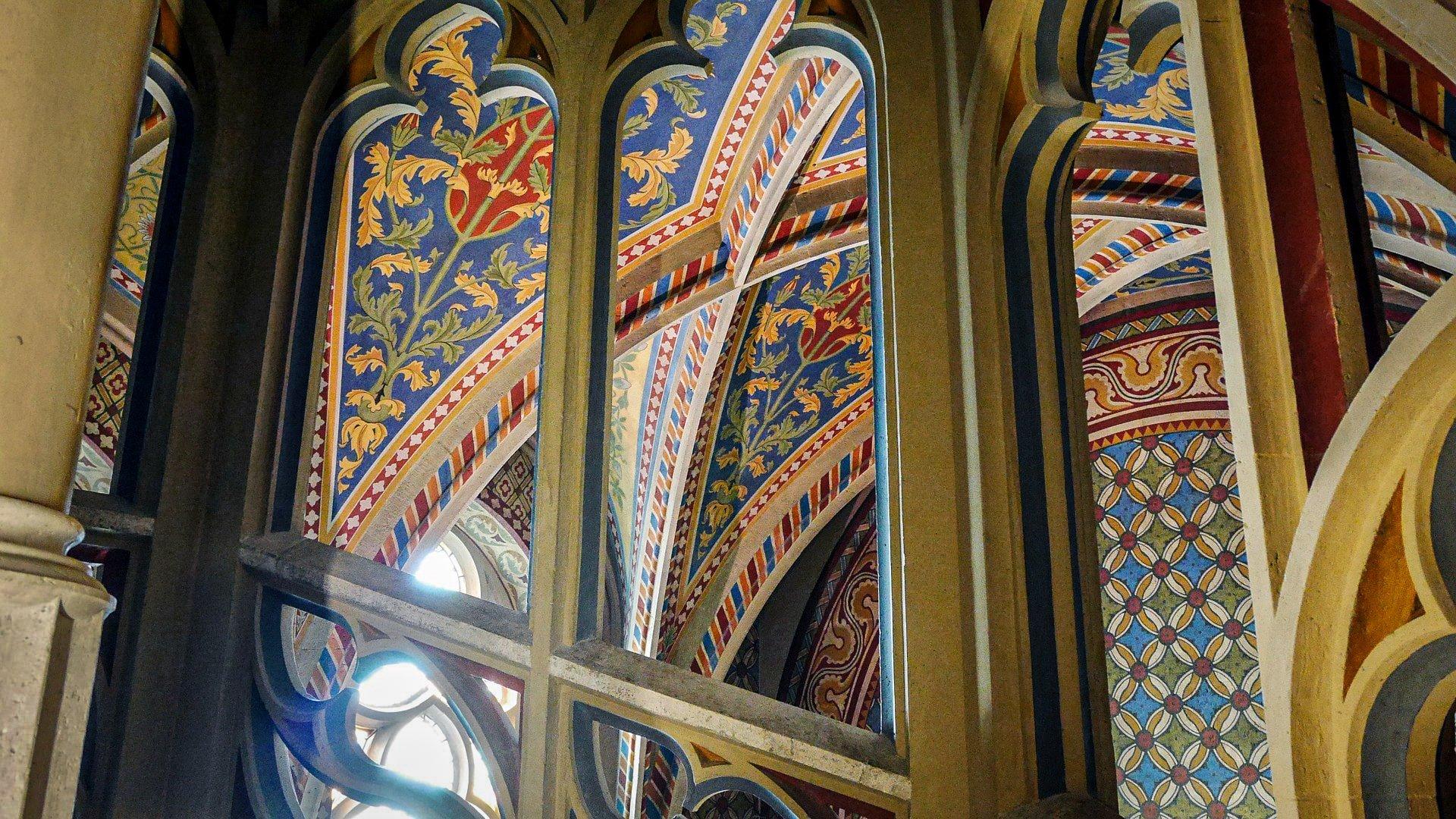 Church of the Assumption of the Buda Castle (Matthias Church) - interior