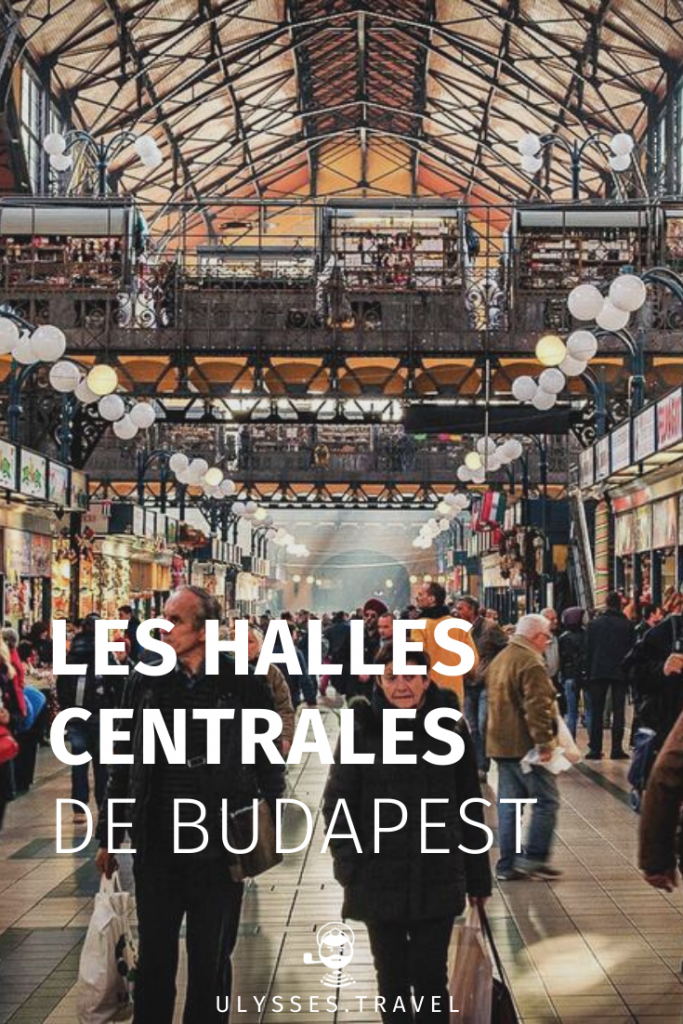 Halles centrales de Budapest - Pinterest