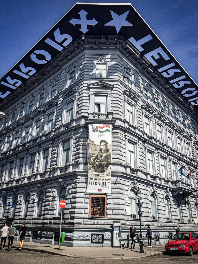 Maison de la Terreur Budapest - façade