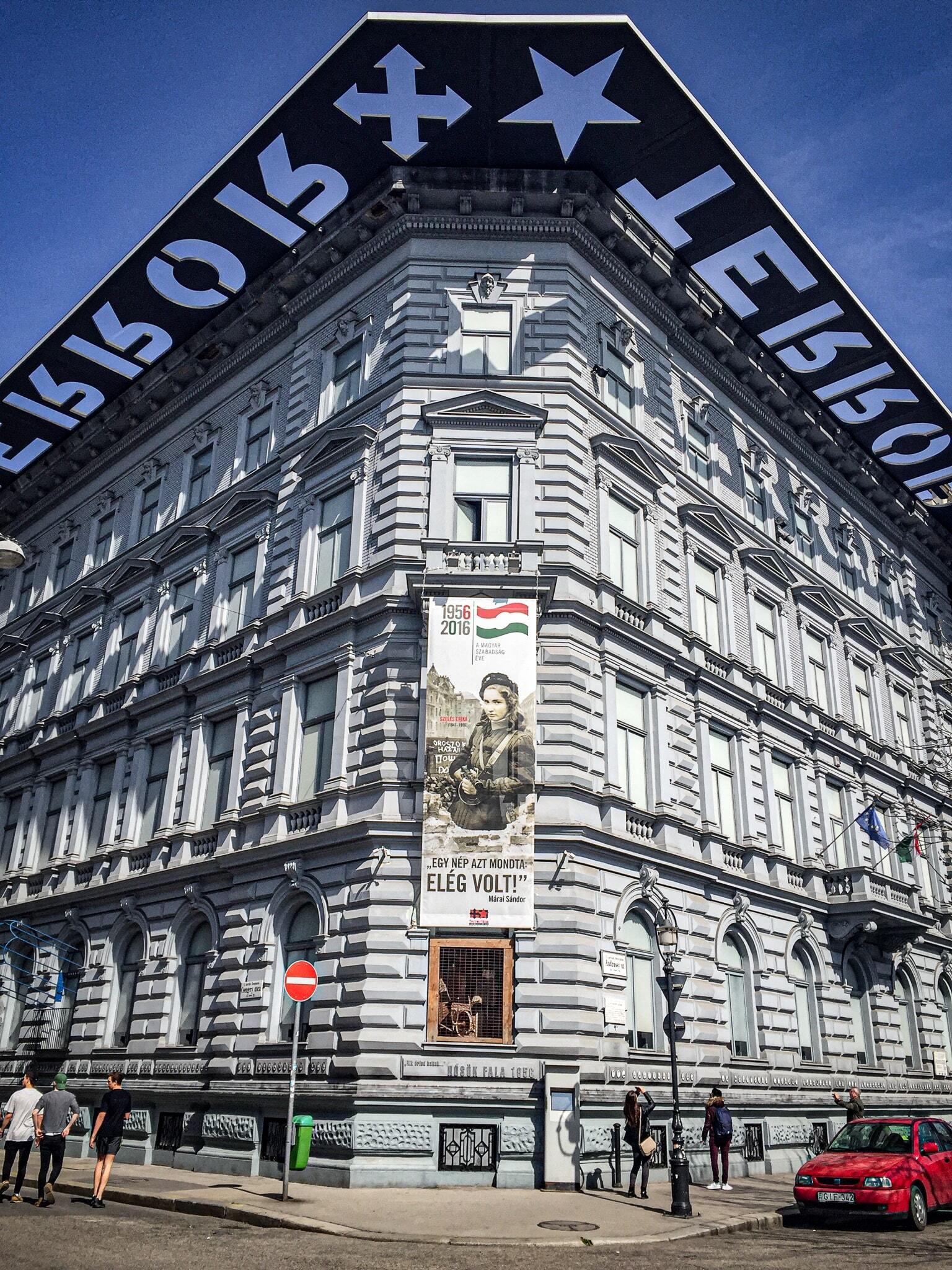 House of Terror Budapest - facade